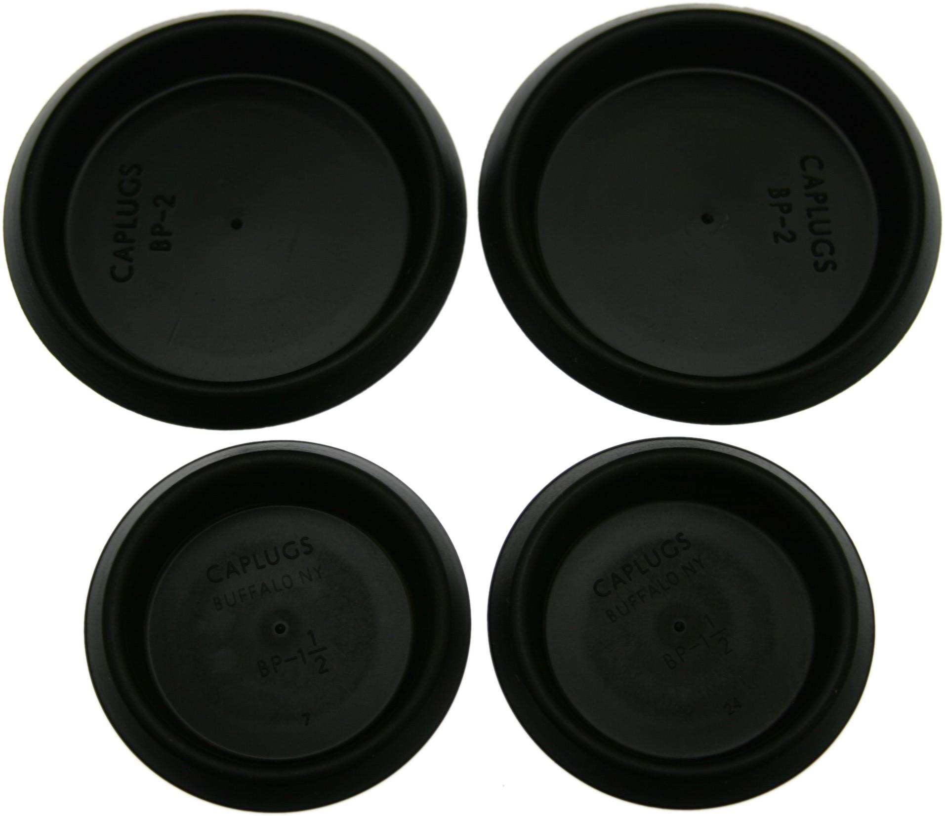 GASKETS & SEALS, MISCELLANEOUS 64-67, Interior rear side wall plug set