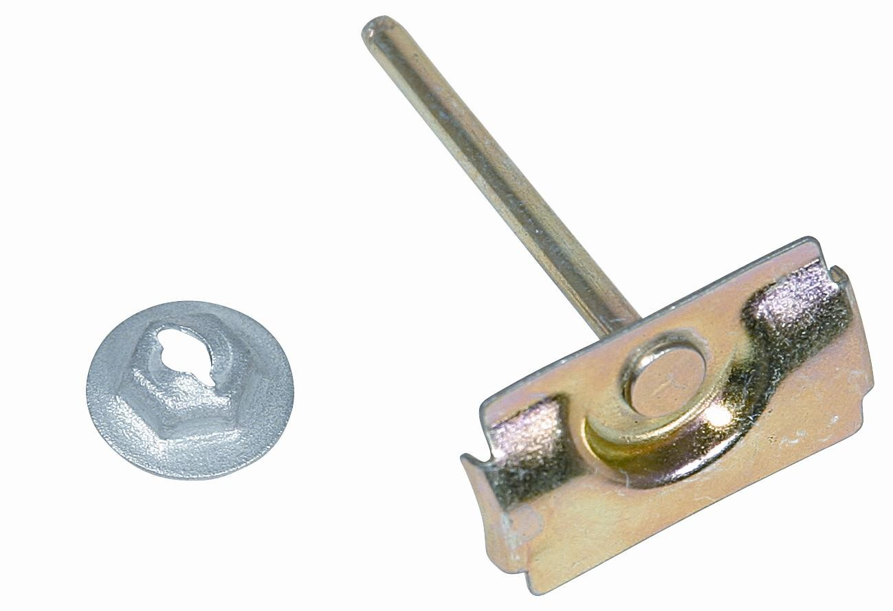 WINDOW MOLDING CLIPS 59-60, Front Upper Windshield Molding Clip each