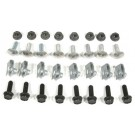 BUMPER BOLT KITS 78-87, Rear w/o Impact Strip - Complete Mounting Kit, 32 pieces