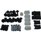 HEADER PANEL HARDWARE KITS 78-79, Headlight bezel , Headlight bezel Molding & Grill, complete